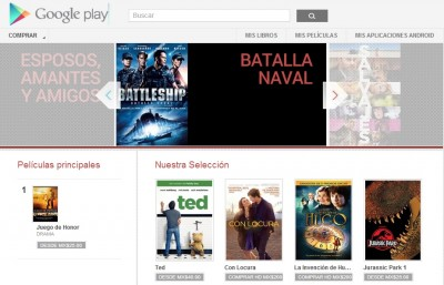Google Play Movies ya está en México