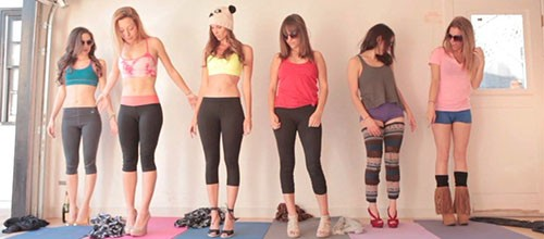 "Como practicar el yoga correctamente según ""Hot Girls Hot Things"""
