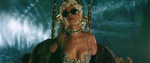 """Pour it up"" Nuevo video de Rihanna (NSFW)"