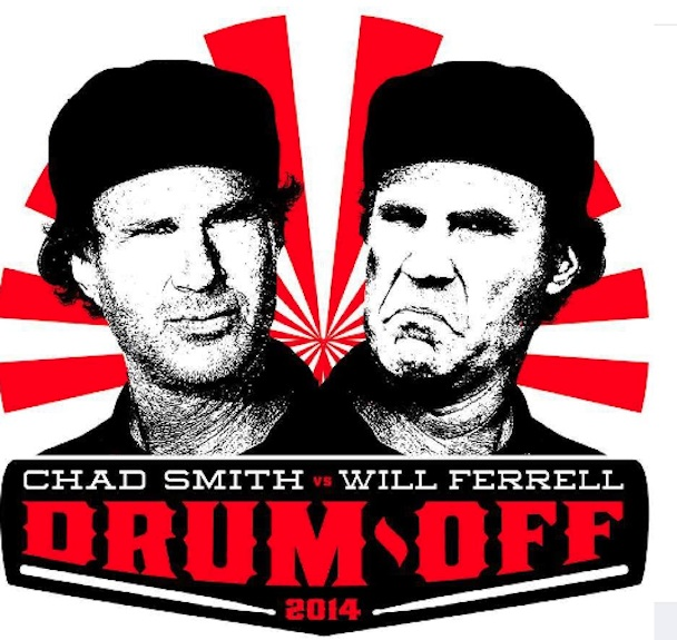Will-Ferrell-Chad-Smith-drum-off
