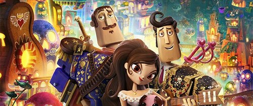 """The Book of Life"" nueva película animada con voces de Diego Luna & Channing Tatum"